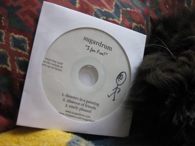 sugardrum - free promo CD
